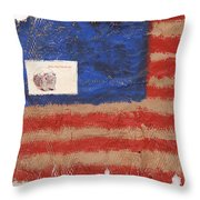 The Flag Throw Pillow