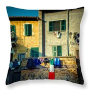 The Flag Needed Washing Throw Pillow