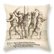 The Flagellation Throw Pillow