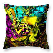 The Flame In My Heart Throw Pillow