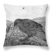 The Fledgling Throw Pillow
