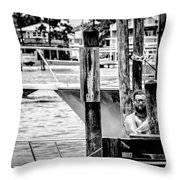 The Fleet  Throw Pillow