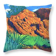 The Flicker Trail Throw Pillow