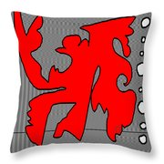 The Flim Flam Man Throw Pillow by Eikoni Images