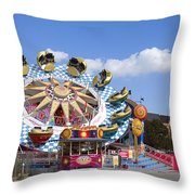 The Flipper At The Prater Throw Pillow