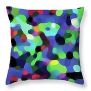 The Flow Of The Dancers Throw Pillow