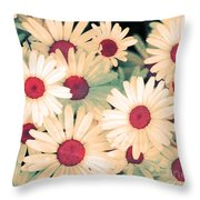 The Flowers At 5 Am Throw Pillow