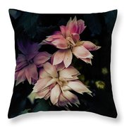 The Flowers Of Romance. Throw Pillow