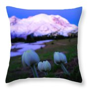 The Flowers Of Sunrise  Throw Pillow