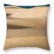 The Flowing Earth Throw Pillow