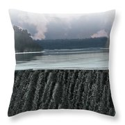 The Flowing Merrimack Throw Pillow