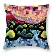 The Fluctuation Of Matter And Spirit Throw Pillow