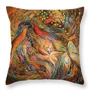 The Fluids Of Love Throw Pillow