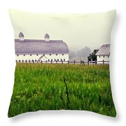 The Fog Has Lifted Throw Pillow