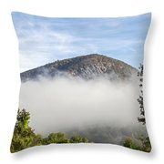 The Fog Is Rising Throw Pillow