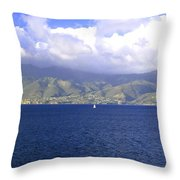 The Fog Lifts Throw Pillow