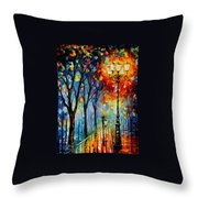 The Fog Of Dreams Throw Pillow