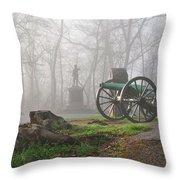 The Fog Of War. Throw Pillow