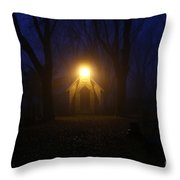The Foggiest Idea 4 Throw Pillow