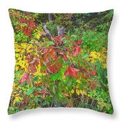 The Foliage That Seems To Be Almost Sentient  Throw Pillow