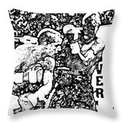 The Follow Through Throw Pillow