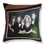 The Fontanel Mansion Farm - Former Home Of Barbara Mandrell Outside Nashville, Tennessee Throw Pillow