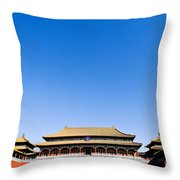 The Forbidden City Throw Pillow