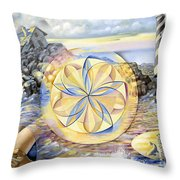 The Forces Of Thought Throw Pillow