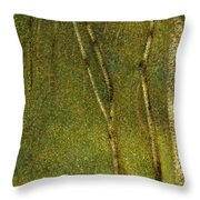The Forest At Pontaubert, 1881 Throw Pillow