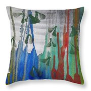 The Forest Primeval Throw Pillow