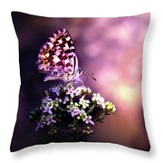 The Forest Throne Throw Pillow