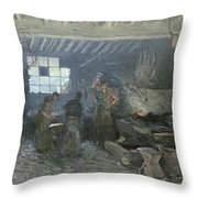 The Forge Throw Pillow