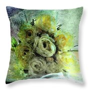 The Forgotten Flowers Throw Pillow