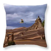 The Forgotten Kingdom Of Kush Throw Pillow