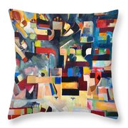 The Form Of The Mishcan Is The Form Of The Creation Of The World Throw Pillow