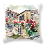 The Forresters Arms In Kilburn Throw Pillow