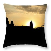 The Fort Throw Pillow