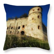 The Fortress - La Fortezza Throw Pillow