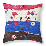 The Four Elements  Throw Pillow