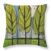 the Four Seasons - spring Throw Pillow