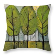 The Four Seasons - Summer Throw Pillow