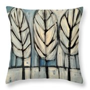 The Four Seasons - Winter Throw Pillow