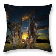 The Fourth Star Throw Pillow