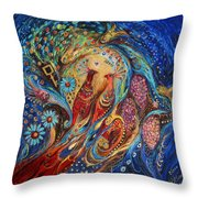 The Fragrance Of Night Throw Pillow