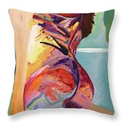 The Frame Throw Pillow