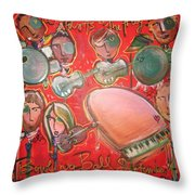 The Fray And The Flobots Throw Pillow
