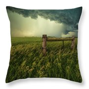 The Frayed Ends Of Sanity  Throw Pillow