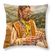 The Free Thinker Throw Pillow