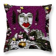 The Free Worlds Environmental Fairy Throw Pillow