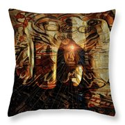 The Freedom Is In The Mind Throw Pillow